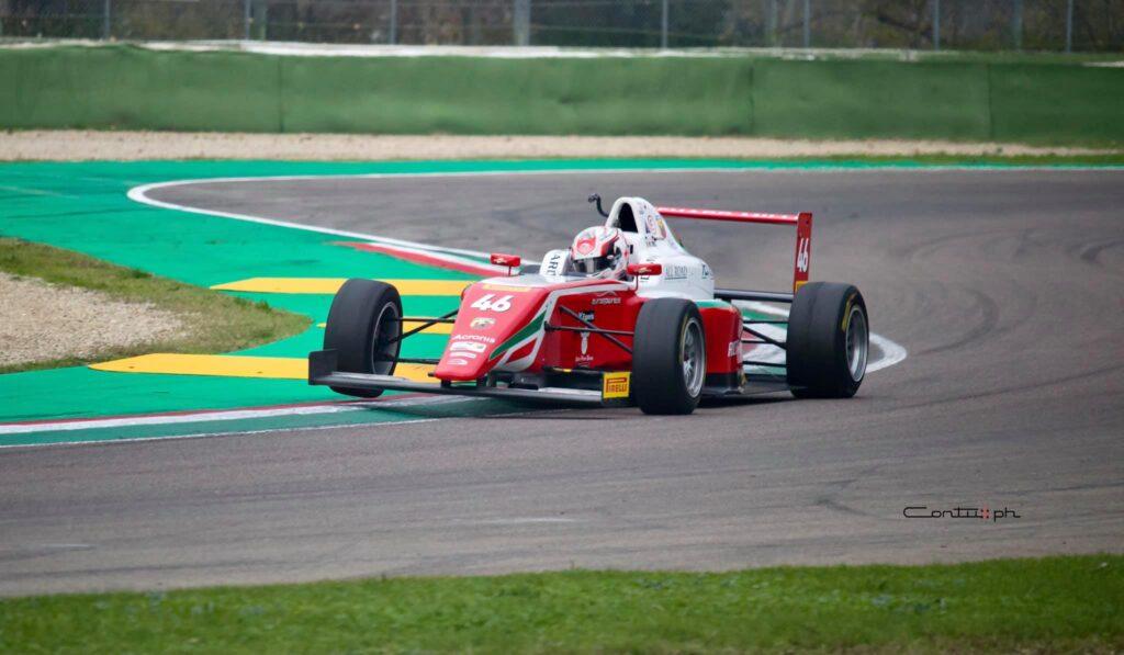 La monoposto 46 di Gabriele Minì - Formula 4