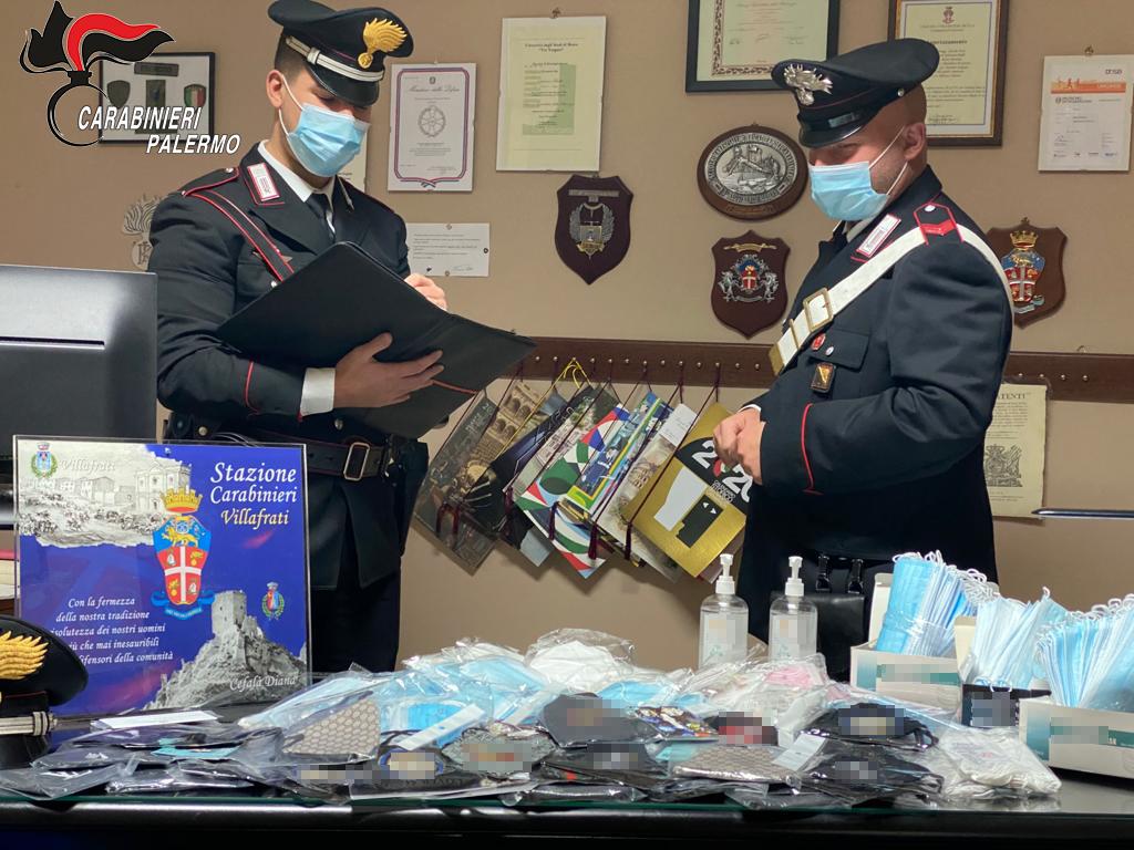 mascherine contraffatte tunisino