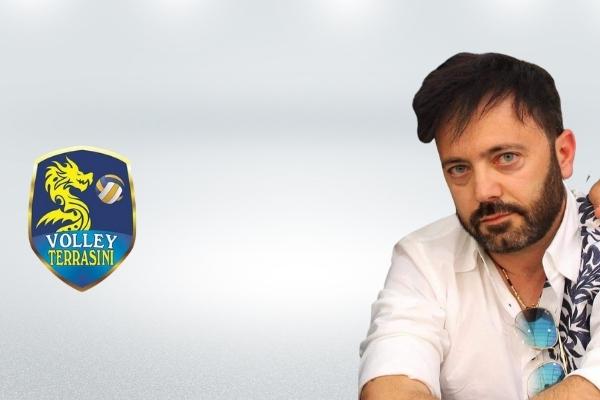 Tony Mancino, presidente Volley Terrasini • pallavolo palermo