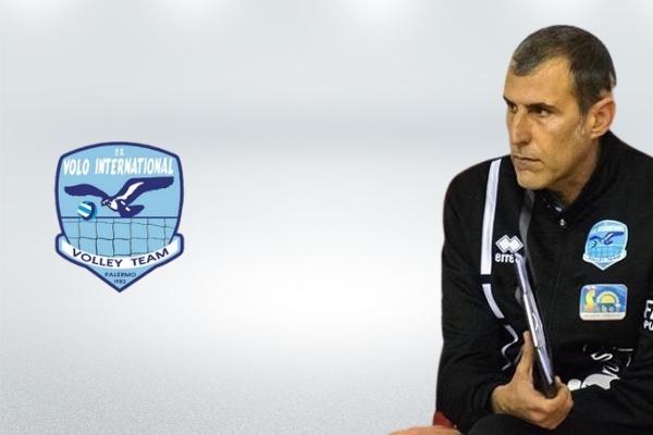 Nicola Ferro, allenatore Pharmap Saber Palermo • pallavolo palermo