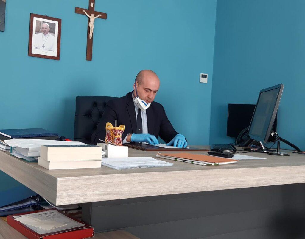 Carmelo D'Angelo alla guida del Comune di Ravanusa
