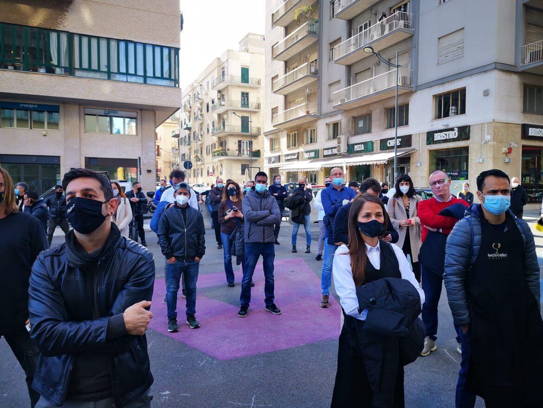 protesta commercianti Palermo