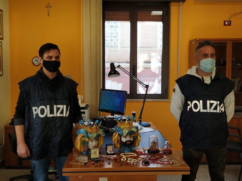 furto in abitazione, la polizia arresta 4 personeta nuova