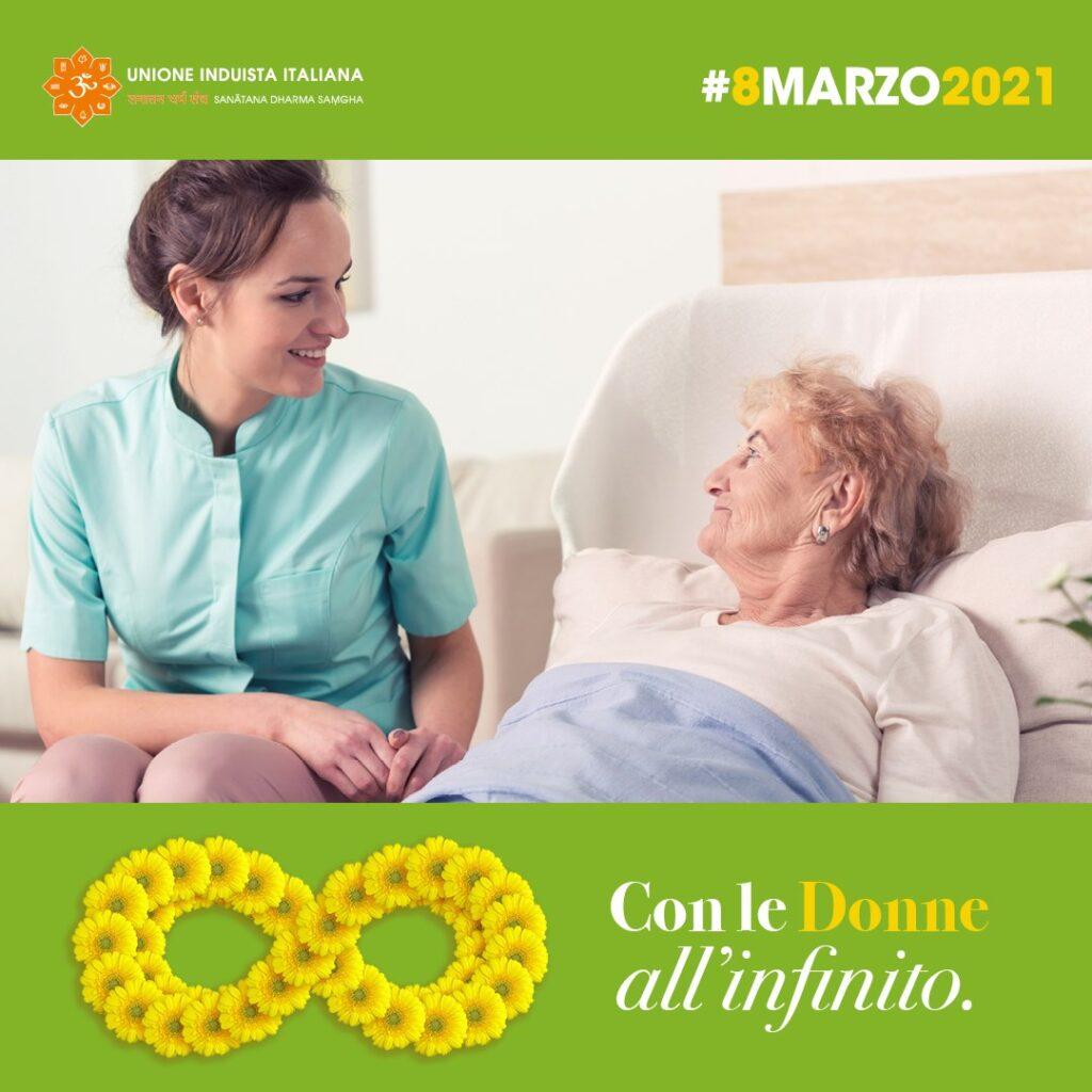 Gerbere gialle per le signore anziane accudite nelle RSA di tutta Italia