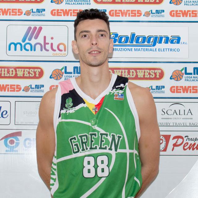 Mirko Gentili Green Basket Palermo