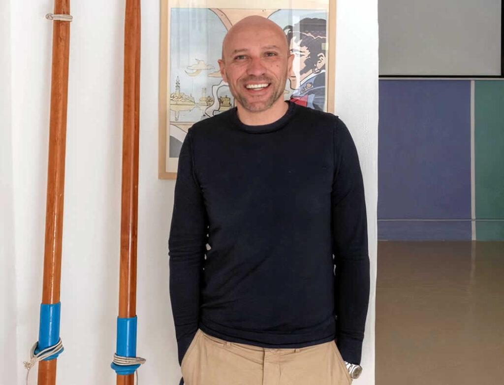 Massimo Mirabella ideatore progetto Zingaro