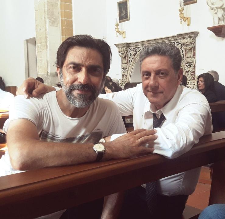 """Sergio Vespertino e Sergio Castellitto hanno recitato insieme in """"É così lieve il tuo bacio sulla fronte"""""""