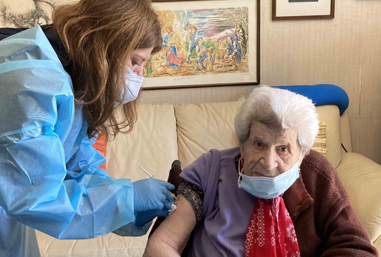 vaccini a domicilio