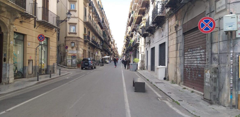 Palermo, zona rossa, corso vittorio Emanuele