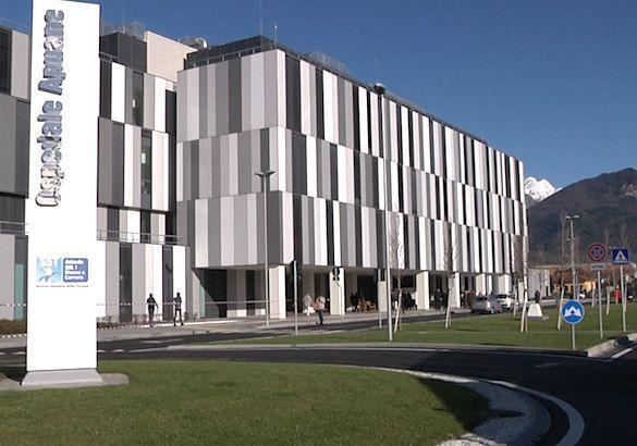 L'ospedale Noa di Massa dove è stata vaccinata la ragazza