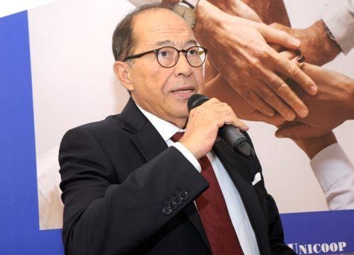 Il presidente di Unicoop Sicilia Felice Coppolino