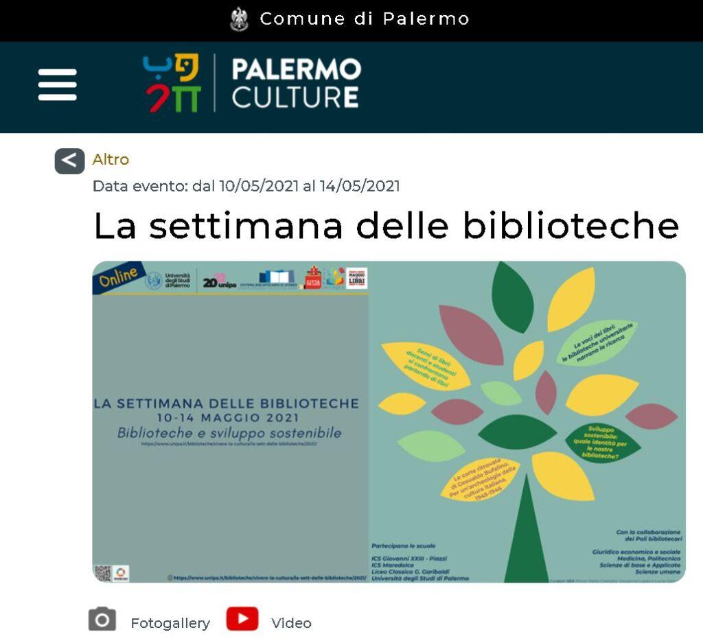 Il concept di PalermoCulture