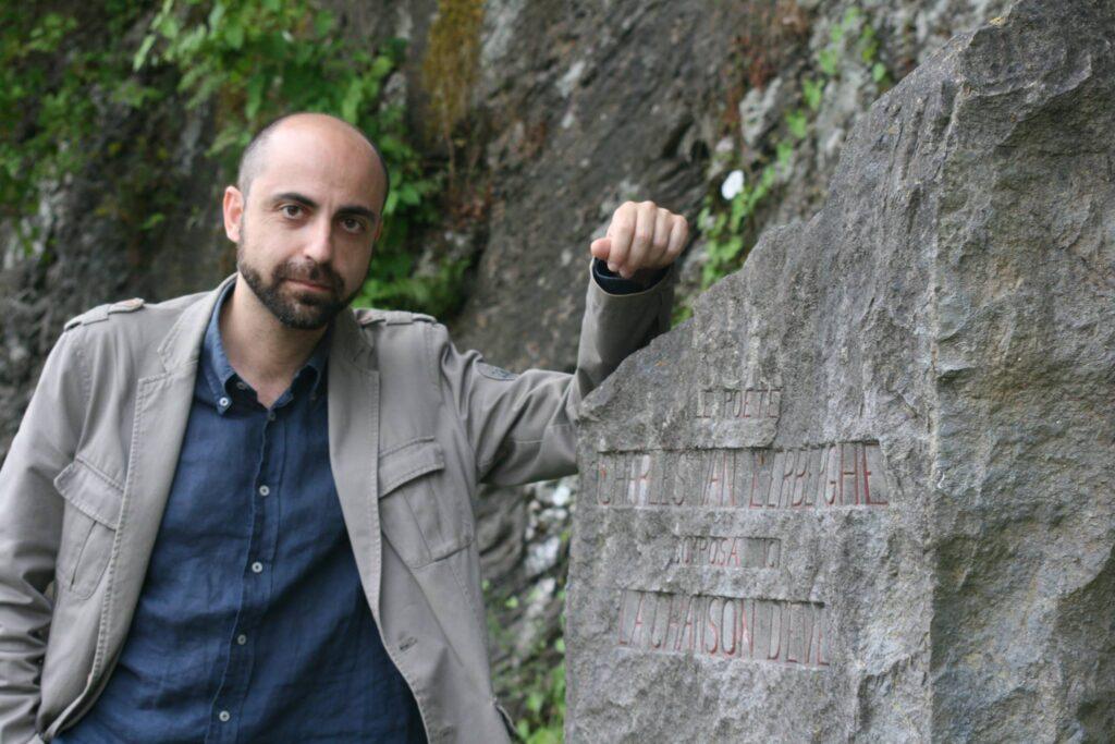 Il regista Fabrizio Catalano