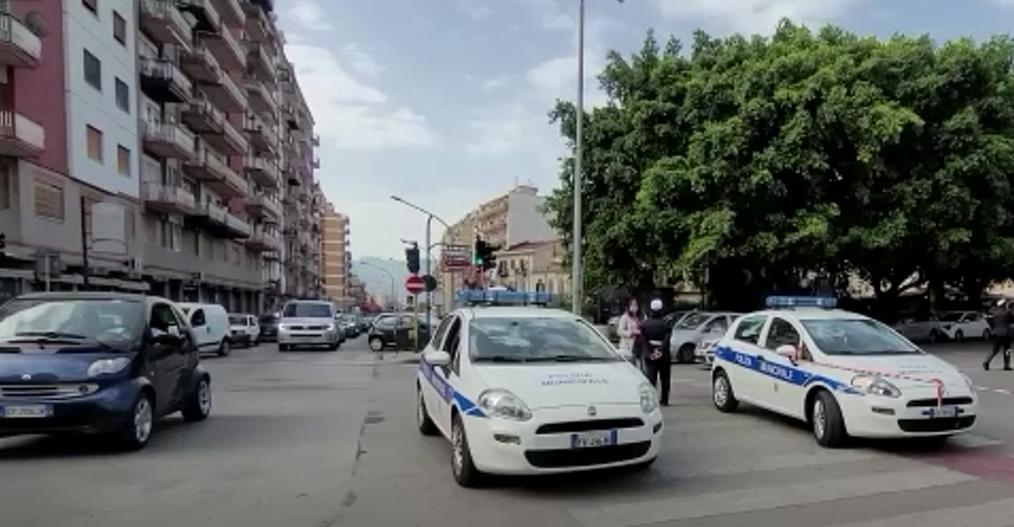traffico via montepellegrino