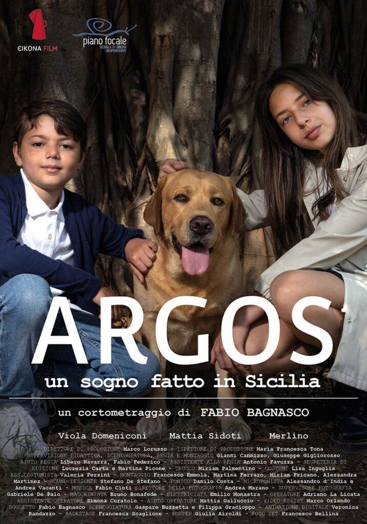 """""""Argos"""" sarà presentato in anteprima ad agosto a Palermo, Roma, Racalmuto e Catania"""