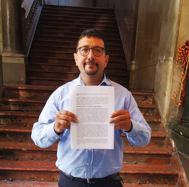 Gelarda firma la mozione di sfiducia contro Orlando