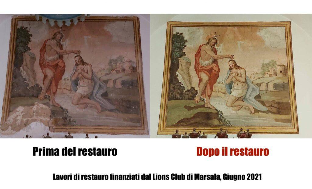 Il Lions Club ha aderito con grande senso civico alla richiesta di supporto del parroco, Don Alessandro Palermo