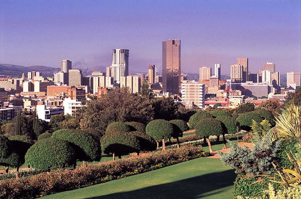 lo Skyline di Pretoria in Sudafrica