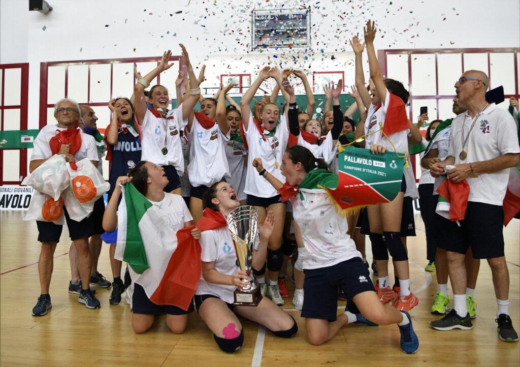 In Volley Piemonte campione d'Italia under 15 femminile