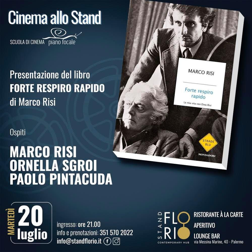 """L'evento è organizzato in collaborazione tra lo Stand Florio e la Scuola di Cinema """"Piano Focale"""""""