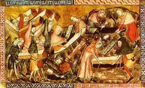 La peste rappresentata in un quadro del Medioevo