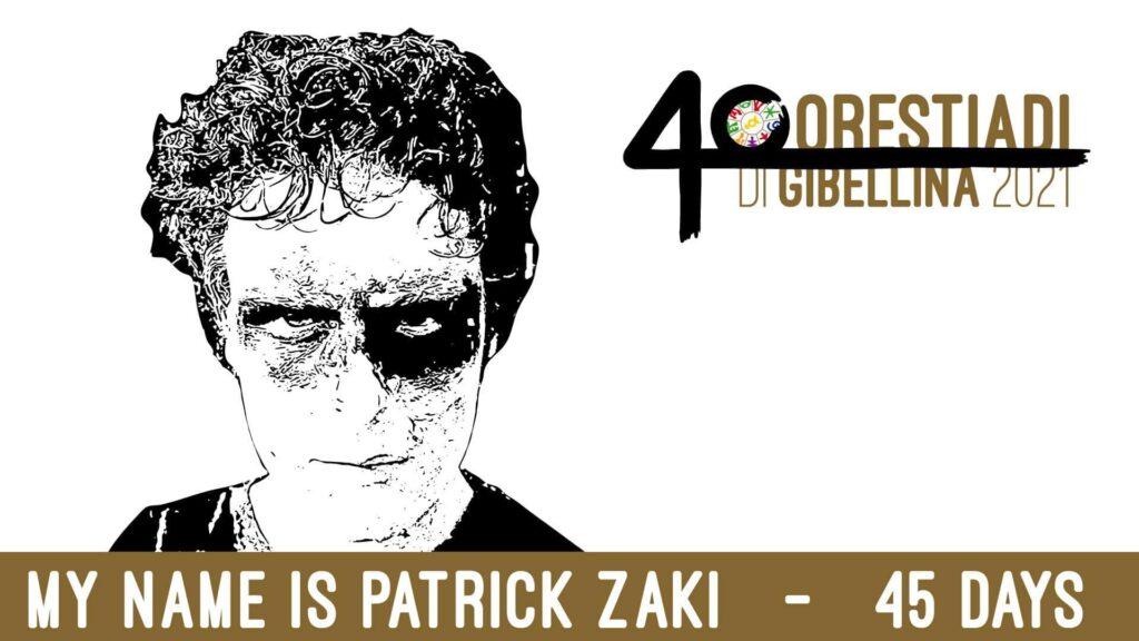 Il dramma di Patrick Zaki andrà in scena il 23 luglio alle 21:00 al Baglio Santo Stefano