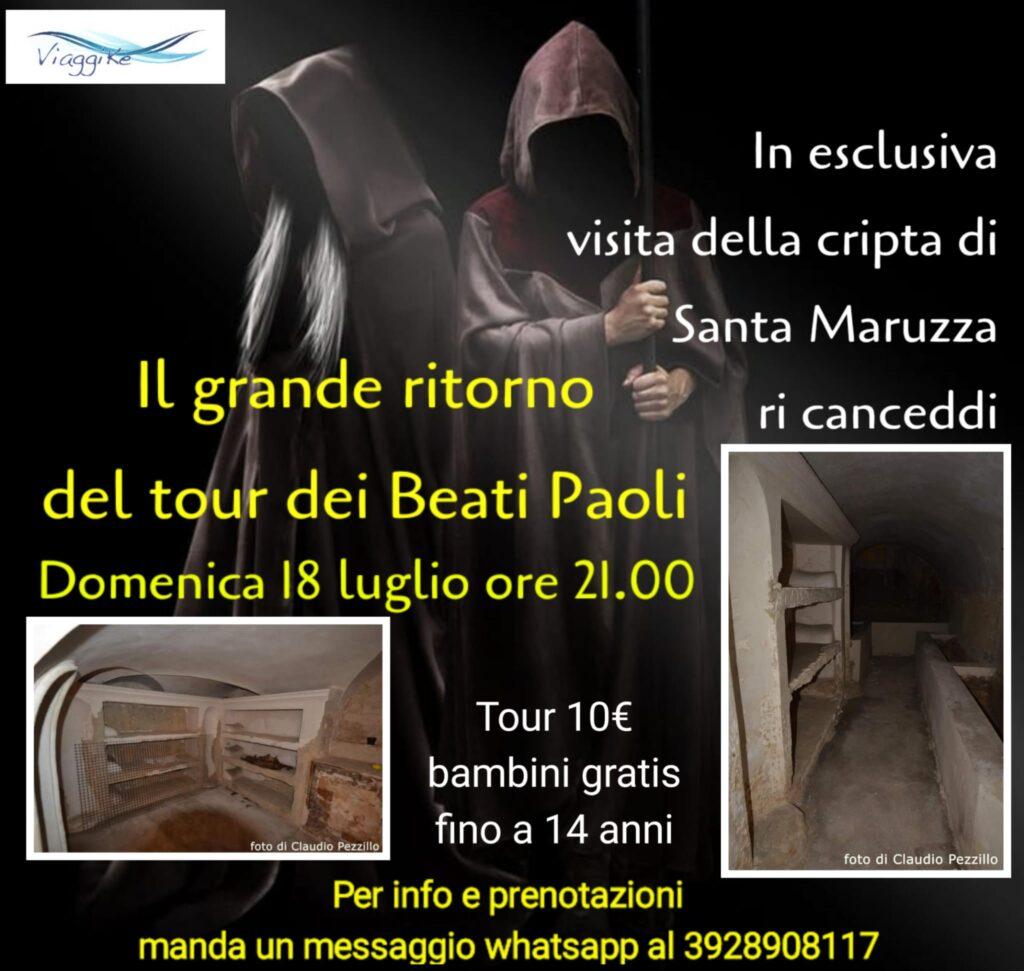 Torna a Palermo il tour dedicato alle gesta misteriose dei Beati Paoli