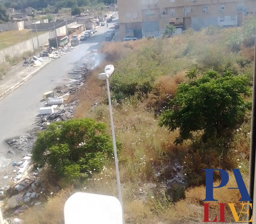 Zen rifiuti degrado Palermo