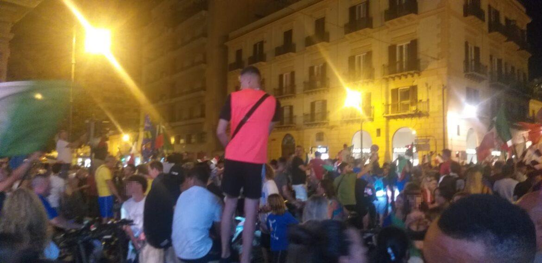 Palermo Italia festeggiamenti
