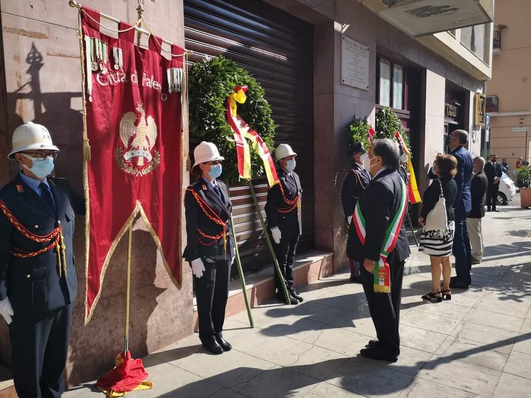 sindaco orlando commemorazione boris giuliano