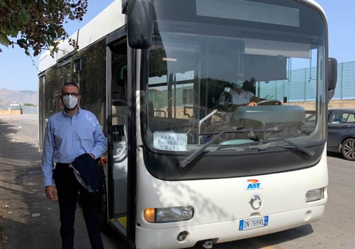 Bagheria Ast autobus trasporto
