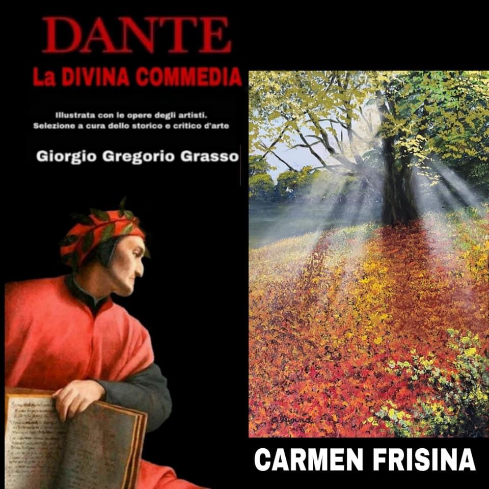 """L'opera della pittrice palermitana Carmen Frisina, dal titolo """"Profumo di primavera"""""""