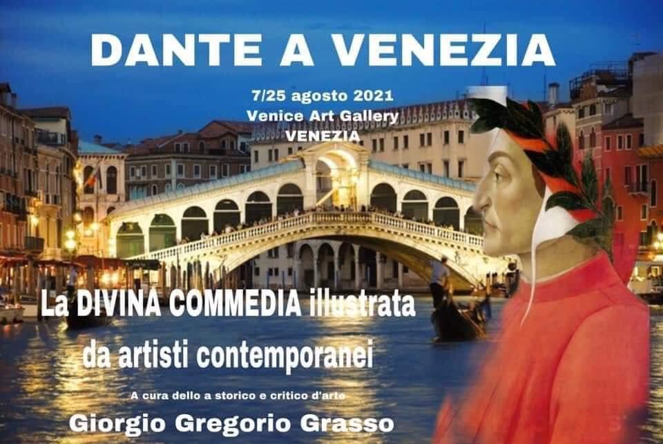 Tra le tappe della mostra itinerante dedicata a Dante Alighieri, c'è anche Venezia