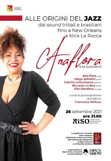 Ana Flora protagonista dell'evento  a cura dell'associazione Open Show