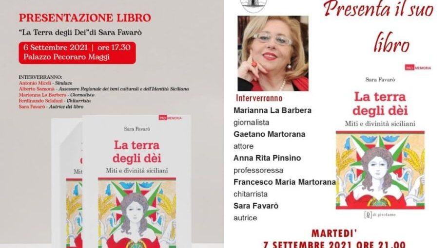 La presentazione del libro di Sara Favarò nei due Comuni in provincia di Palermo