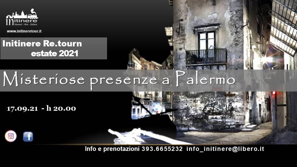 Il singolare itinerario racconta congiure, anime perse ed evanescenti e personaggi vagabondi che popolarono Palermo