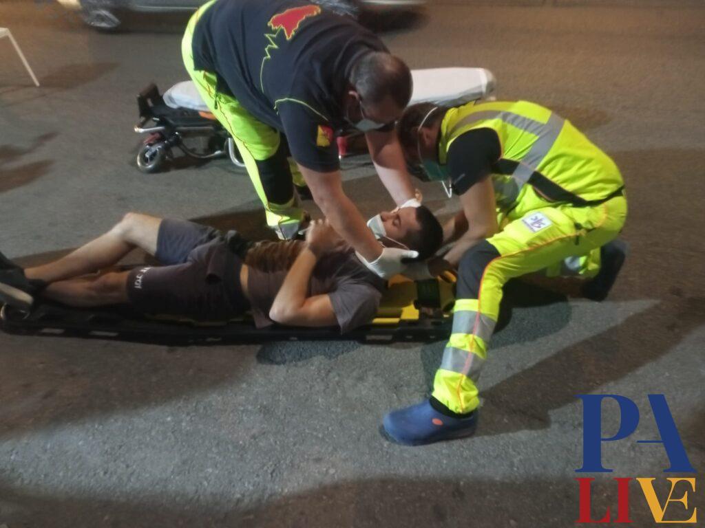 buca giovane ambulanza