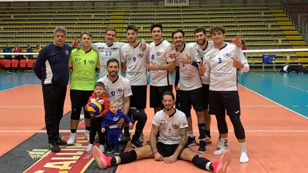 Partinico vittoria in Calabria